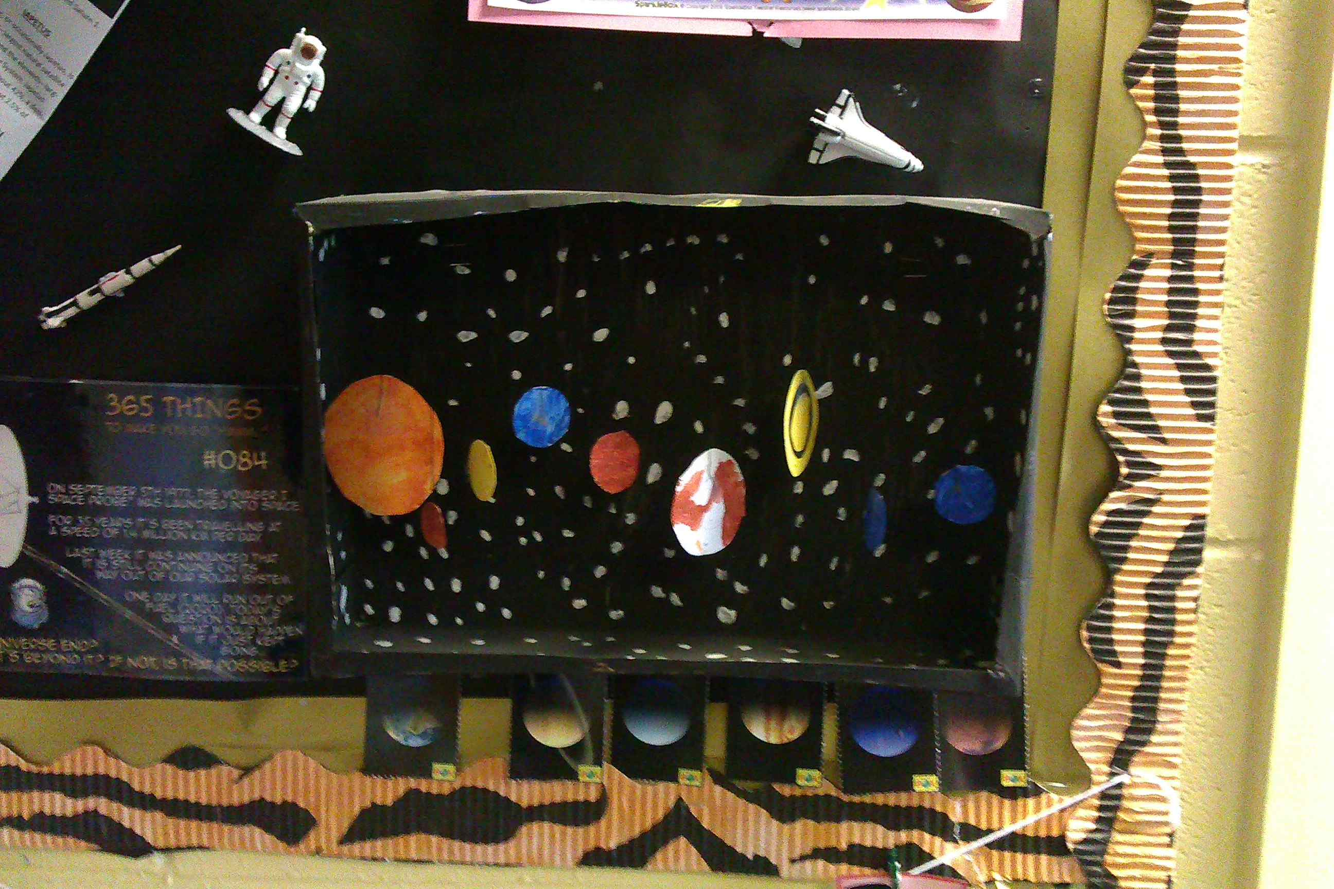 Solar System Model Shoe Box Float - Pics about space