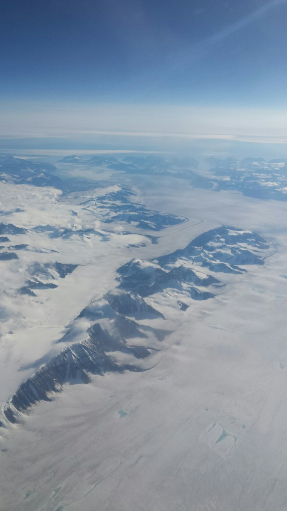Gordon's view of Greenland