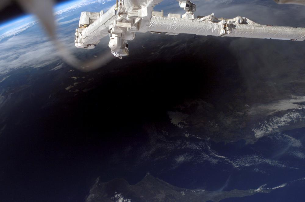 Eclipse from the ISS