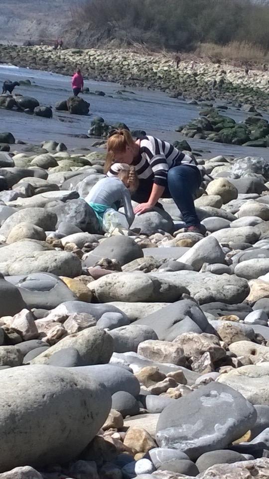 Treacherous rocks