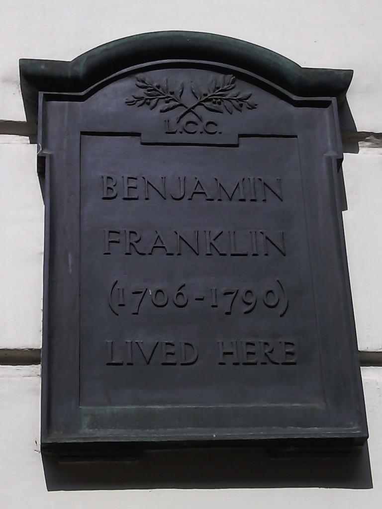 Benjamin Franklin's House